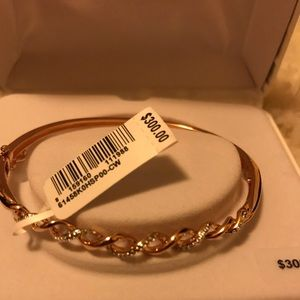 Jewelry - Rose Gold and Diamond Bracelet